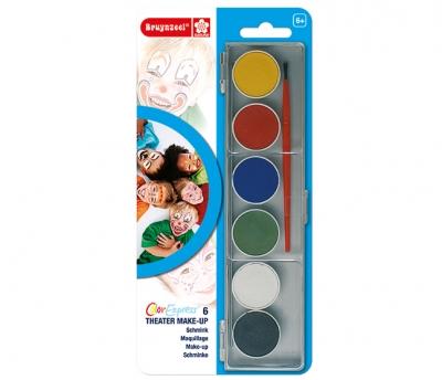 ست گریم صورت 6 رنگ برونزیل- 9514B07C