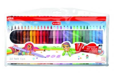 ماژیک 30 رنگ برونزیل طرح جدید-  7001Z30B