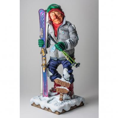 مجسمه فورچینو The Skier
