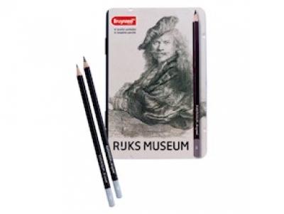 مداد طراحی 12 عددی برونزیل Dutch Masters