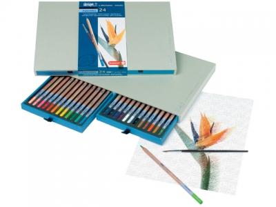 مداد آبرنگی 24 رنگ دیزاین- 8835H24
