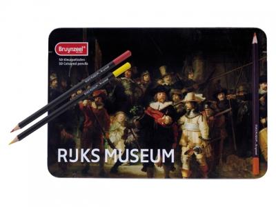 ست مداد رنگي 50 رنگ برونزیل Dutch Masters