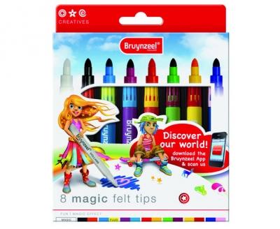 ماژیك جادويي 8 رنگ برونزیل طرح جدید- 7951K08B