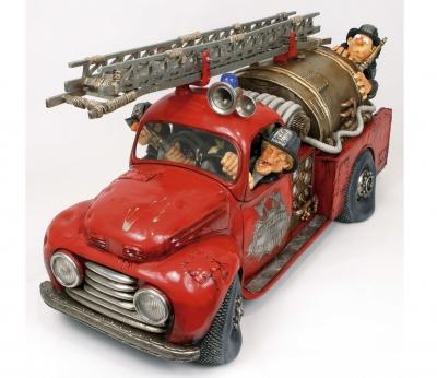 مجسمه فورچینو The Fire Engine