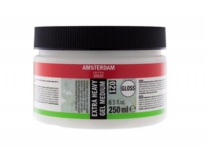 ژل مدیوم براق خیلی قوی (Extra Heavy Gel Medium Gloss) آمستردام 021
