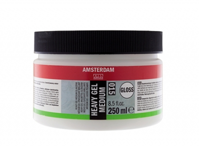 ژل مدیوم براق قوی (Heavy Gel Medium Gloss) آمستردام 015