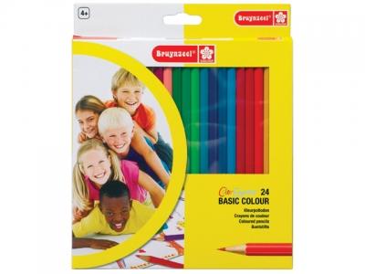 مداد رنگی 24 رنگ برونزیل- 7545K24C