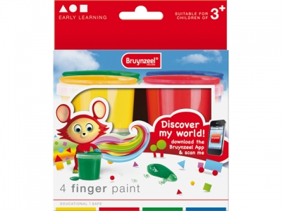 ست رنگ انگشتی 4 رنگ برونزیل طرح جدید- 9516K04B