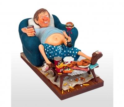 مجسمه فورچینو The Couch Potato