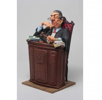 مجسمه فورچینو The Judge