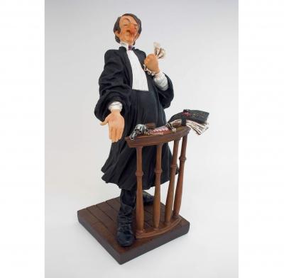 مجسمه فورچینو The Lawyer
